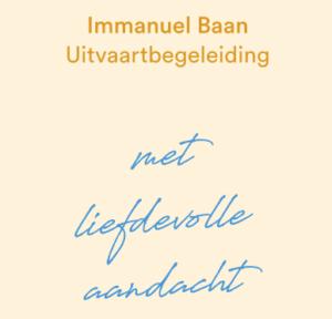 Immanuel Baan Uitvaartbegeleiding