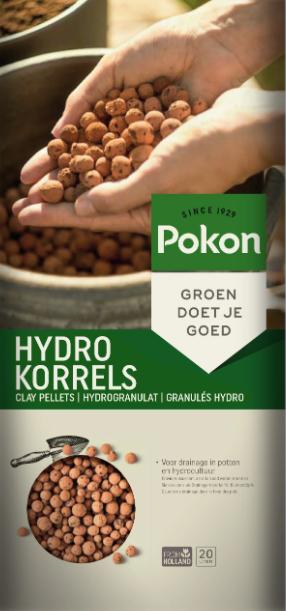 20 liter Pokon hydrokorrels