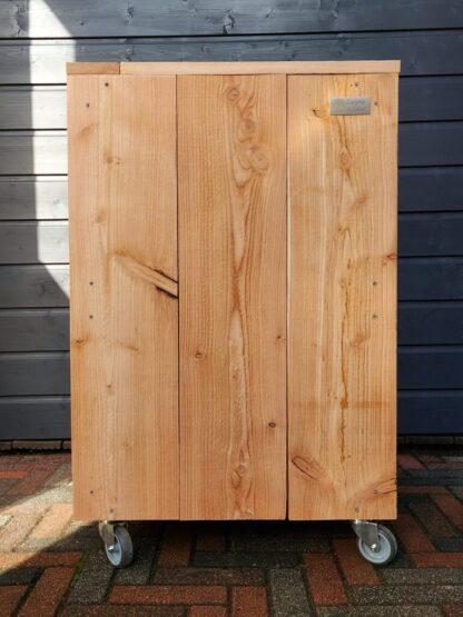 Voorkant Douglas houten plantenbak 'Fox'