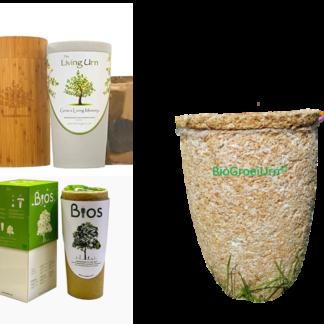 Bio urnen voor boom of heester